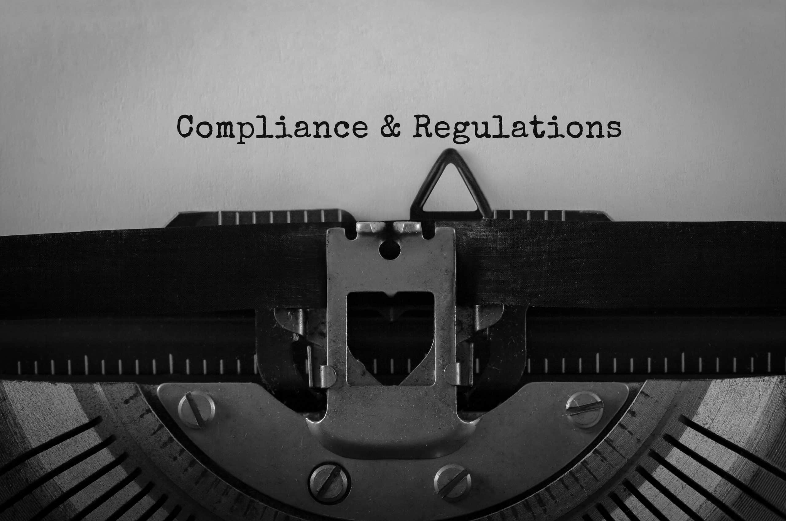 Compliance & Regulations