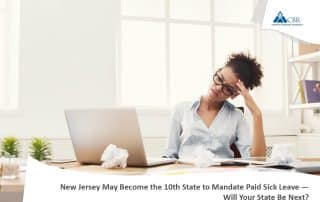 New Jersey May Become the 10th State to Mandate Paid Sick Leave
